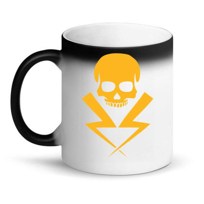Electricity Skull Funny Magic Mug Designed By Anma4547