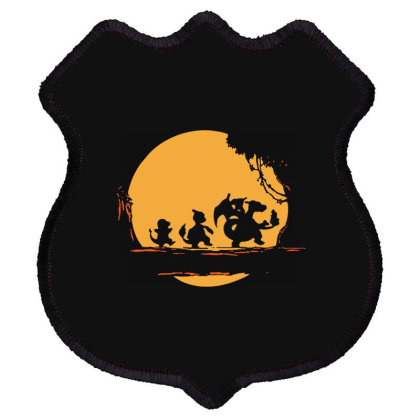 Fire Moonwalk Shield Patch Designed By Lyly