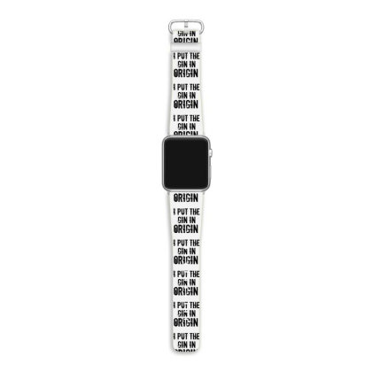 Gin In Origin Apple Watch Band Designed By Perfect Designers