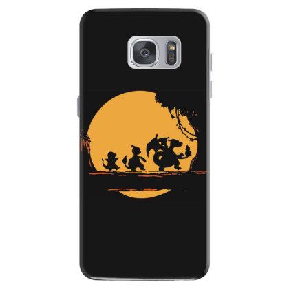 Fire Moonwalk Samsung Galaxy S7 Case Designed By Lyly