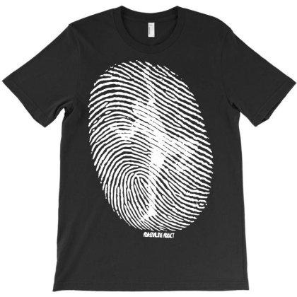 Fingerprint Climber T-shirt Designed By Lyly