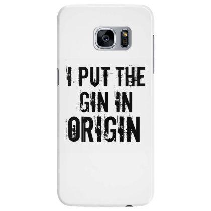 Gin In Origin Samsung Galaxy S7 Edge Case Designed By Perfect Designers