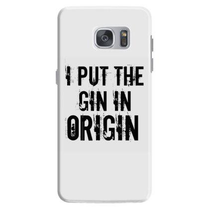 Gin In Origin Samsung Galaxy S7 Case Designed By Perfect Designers