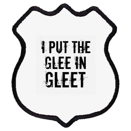 Glee In Gleet Shield Patch Designed By Perfect Designers