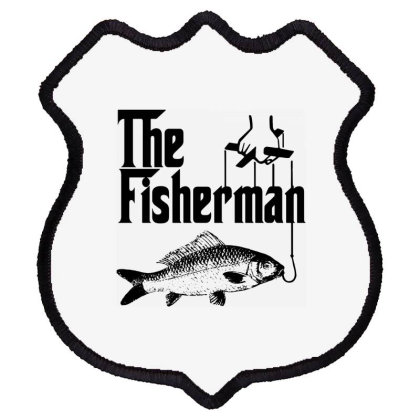 Fisherman Funny Fishing Shield Patch Designed By Lyly