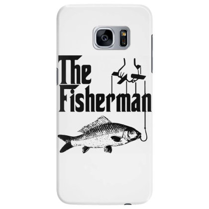 Fisherman Funny Fishing Samsung Galaxy S7 Edge Case Designed By Lyly