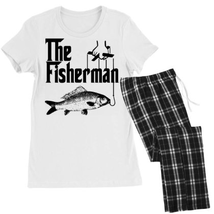 Fisherman Funny Fishing Women's Pajamas Set Designed By Lyly