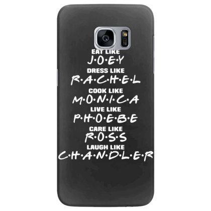 Friends Tv Show Sitcom Funny Samsung Galaxy S7 Edge Case Designed By Lyly