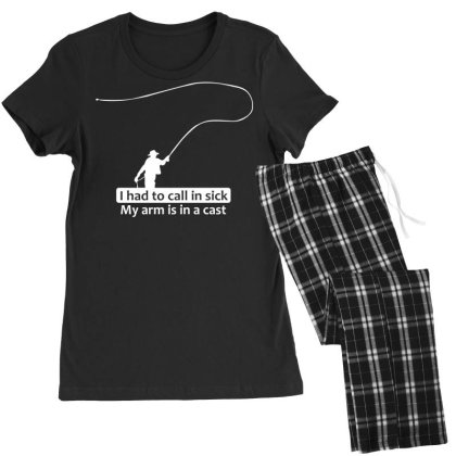 Fishing   I Had To Call In Sick Women's Pajamas Set Designed By Lyly