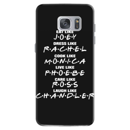 Friends Tv Show Sitcom Funny Samsung Galaxy S7 Case Designed By Lyly