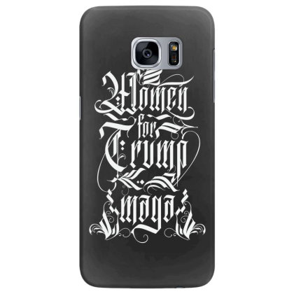 Women For Trump Lettering Samsung Galaxy S7 Edge Case Designed By Tiococacola