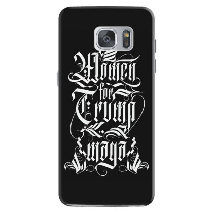 Women For Trump Lettering Samsung Galaxy S7 Case Designed By Tiococacola