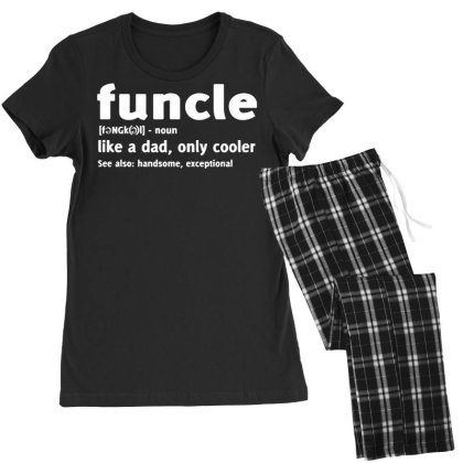 Funcle Fun Uncle Humor Women's Pajamas Set Designed By Lyly