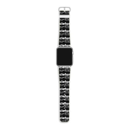 Funcle Fun Uncle Apple Watch Band Designed By Lyly