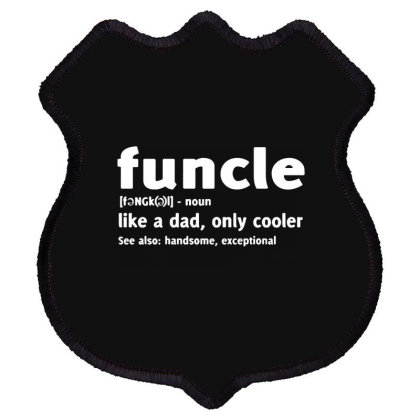 Funcle Fun Uncle Shield Patch Designed By Lyly