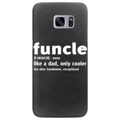 Funcle Fun Uncle Samsung Galaxy S7 Edge Case Designed By Lyly