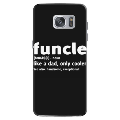 Funcle Fun Uncle Samsung Galaxy S7 Case Designed By Lyly