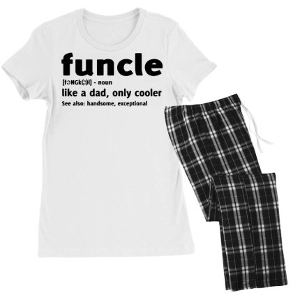 Funcle Fun Uncle Humor1 Women's Pajamas Set Designed By Lyly