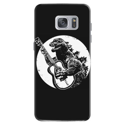Godzilla Playing Guitar Samsung Galaxy S7 Case Designed By Lyly