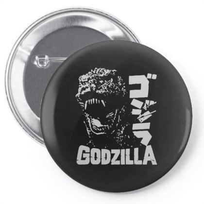 Godzilla Pin-back Button Designed By Lyly