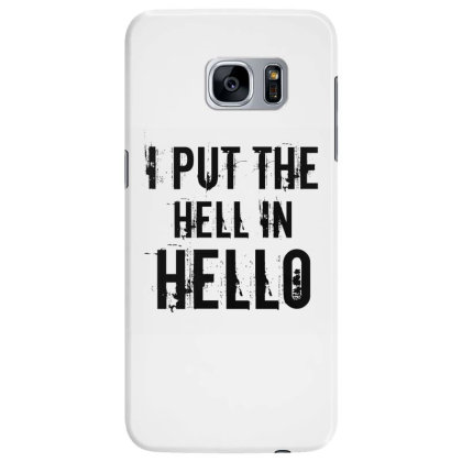 Hell In Hello Samsung Galaxy S7 Edge Case Designed By Perfect Designers