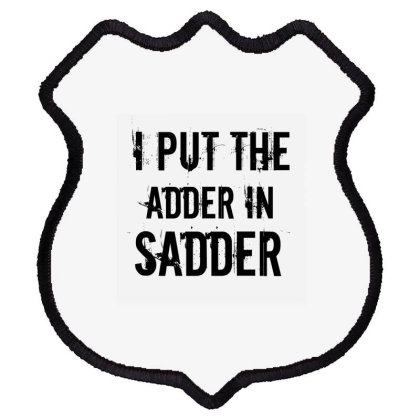 Sadder Shield Patch Designed By Perfect Designers