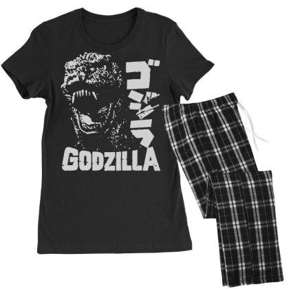Godzilla Women's Pajamas Set Designed By Lyly