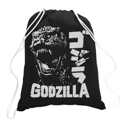 Godzilla Drawstring Bags Designed By Lyly