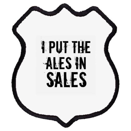 Ales In Sales Shield Patch Designed By Perfect Designers