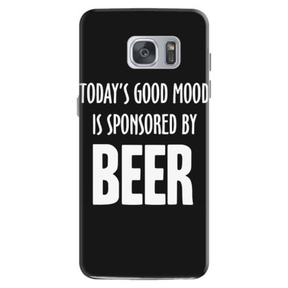Good Mood Sponsored By Beer Samsung Galaxy S7 Case Designed By Lyly