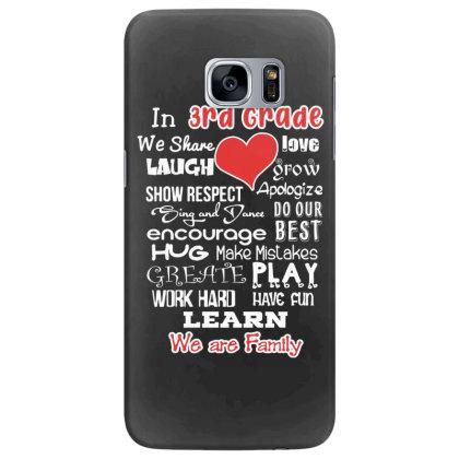 3rd Grade We Are Family Samsung Galaxy S7 Edge Case Designed By Love Shiga