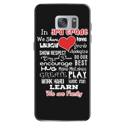 3rd Grade We Are Family Samsung Galaxy S7 Case Designed By Love Shiga