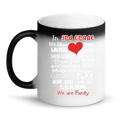 3rd Grade We Are Family Magic Mug Designed By Love Shiga