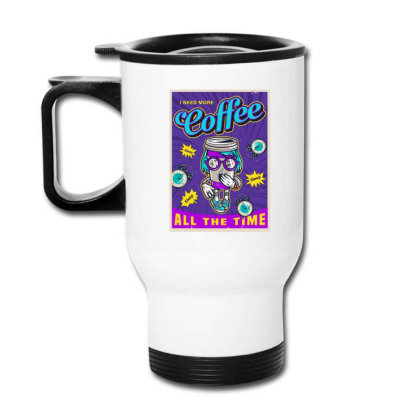 Coffee All Time Travel Mug Designed By Chiks