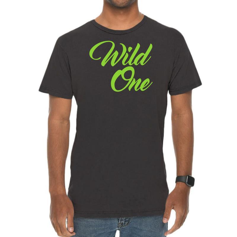 Wild One Vintage T-shirt | Artistshot