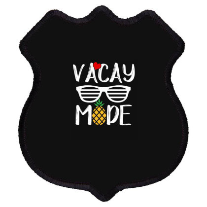 Vacay Mode 2020 Shield Patch Designed By Faical