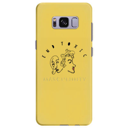 End Toxic Masculinity Samsung Galaxy S8 Plus Case Designed By Oyaarnola