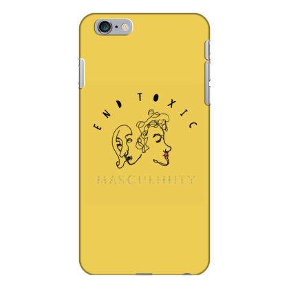 End Toxic Masculinity Iphone 6 Plus/6s Plus Case Designed By Oyaarnola