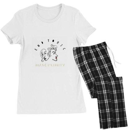 End Toxic Masculinity Women's Pajamas Set Designed By Oyaarnola
