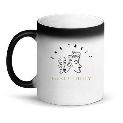 End Toxic Masculinity Magic Mug Designed By Oyaarnola