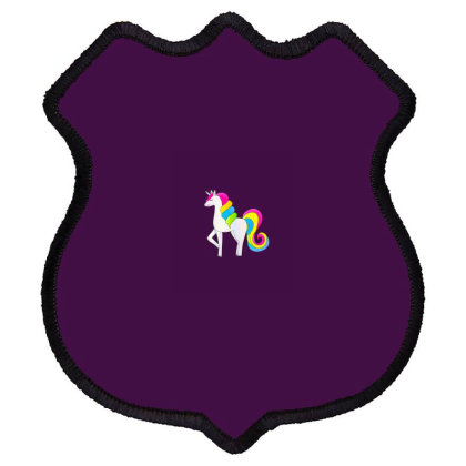 Baby Unicorn Horse Shield Patch Designed By Chiks