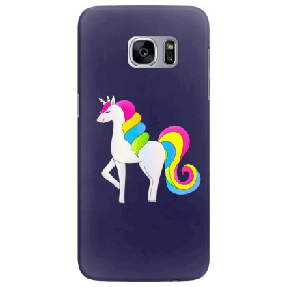 Baby Unicorn Horse Samsung Galaxy S7 Edge Case Designed By Chiks