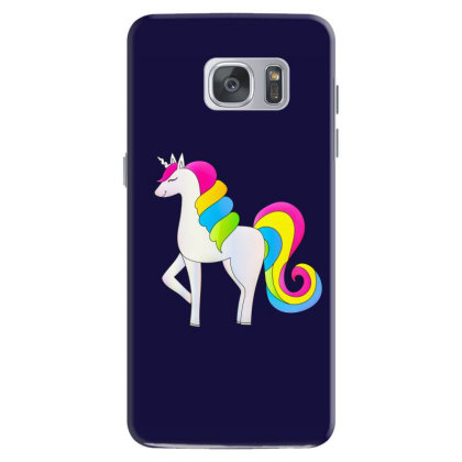 Baby Unicorn Horse Samsung Galaxy S7 Case Designed By Chiks