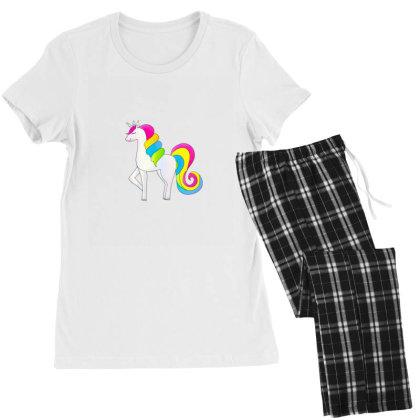 Baby Unicorn Horse Women's Pajamas Set Designed By Chiks