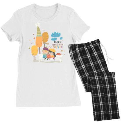 Autumn Women's Pajamas Set Designed By Disgus_thing