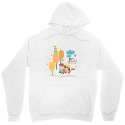 Autumn Unisex Hoodie Designed By Disgus_thing