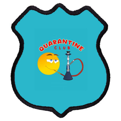 Quarantine Club Shield Patch Designed By Chiks