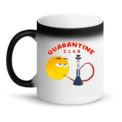 Quarantine Club Magic Mug Designed By Chiks