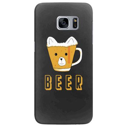 Beer Bear Kawaii Samsung Galaxy S7 Edge Case Designed By Cypryanus