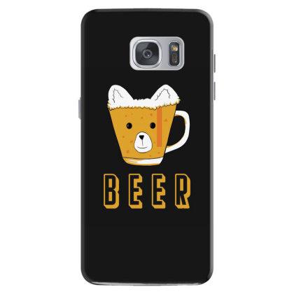 Beer Bear Kawaii Samsung Galaxy S7 Case Designed By Cypryanus